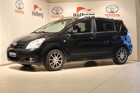 Toyota Corolla Verso 2,2 D-4D Sol City 7 seter Skinn, Hengerfeste, Navi ++  2008, 152659 km, kr 119000,-