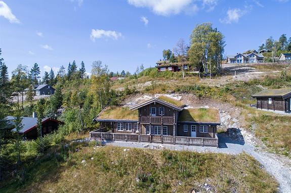 7-roms hytte - På fjellet - Noresund - 4 950 000,- Nordvik & Partners
