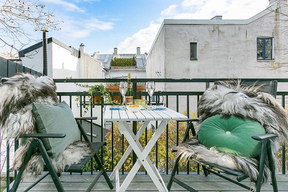 3-roms leilighet - Homansbyen-Bislett - Oslo - 5 350 000,- Nordvik & Partners