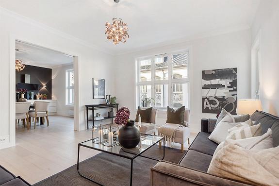 4-roms leilighet - Bygdøy-Frogner - Oslo - 9 000 000,- Nordvik & Partners
