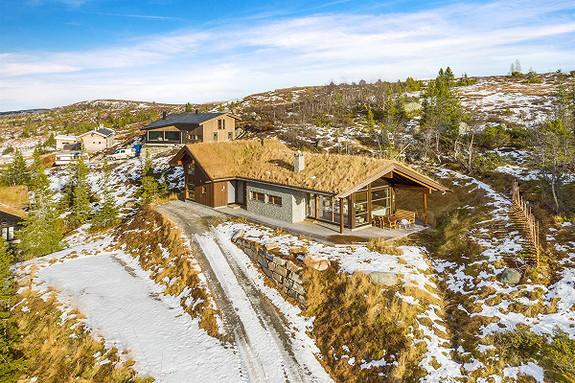 4-roms fritidsbolig - På fjellet - Eggedal - 5 990 000,- Nordvik & Partners