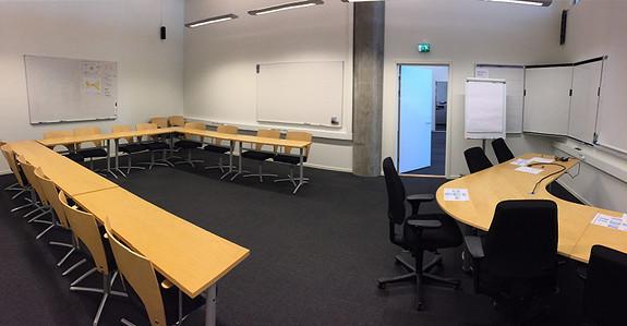 Undervisningsrom/møterom for opptil ca 25 personer