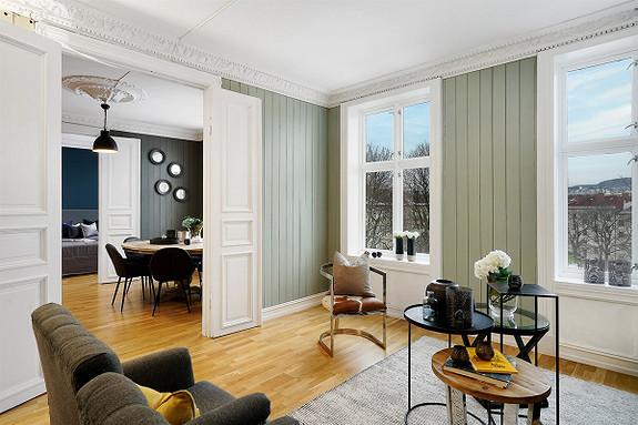 4-roms leilighet - St. Hanshaugen-Ullevål - Oslo - 5 690 000,- Nordvik & Partners