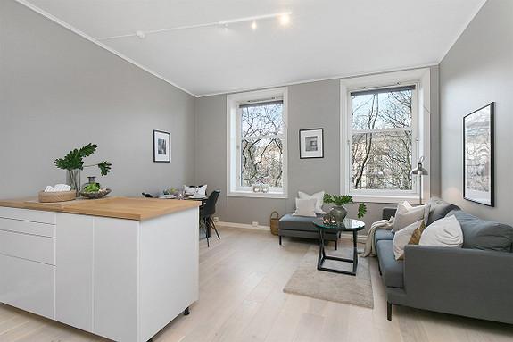 3-roms leilighet - St. Hanshaugen-Ullevål - Oslo - 3 750 000,- Nordvik & Partners