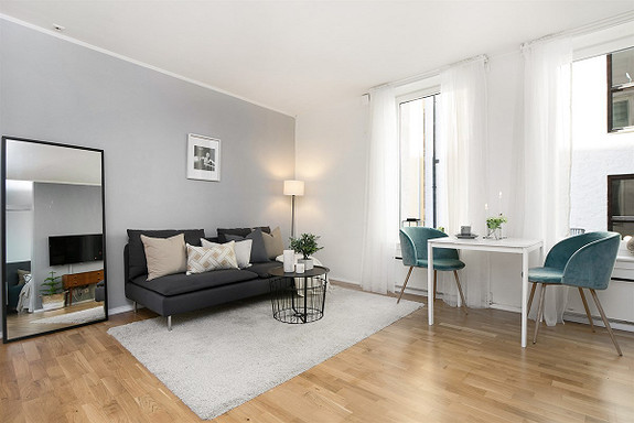 2-roms leilighet - St. Hanshaugen-Ullevål - Oslo - 3 200 000,- Schala & Partners