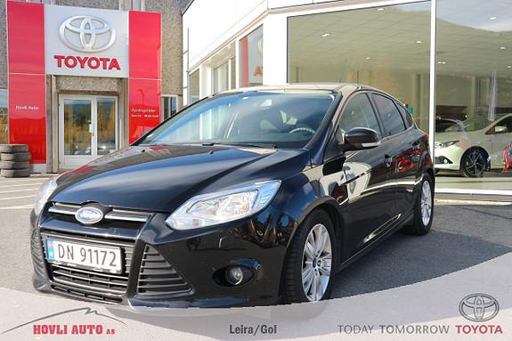 Ford Focus 1,6 TDCi 95hk Trend H.feste - EU OK 2020 - Oppv Rute  2012, 93500 km, kr 99900,-