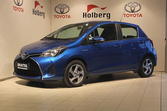 Toyota Yaris 1,5 Hybrid Active S e-CVT Ryggekamera, DAB+, Navi ++  2014, 38300 km, kr 169000,-