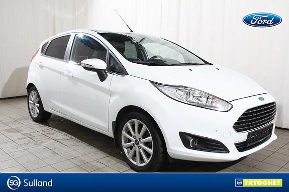 Ford Fiesta 1,0T 100hk Titanium  l Lav KM l Radio DAB+ l Innbytte
