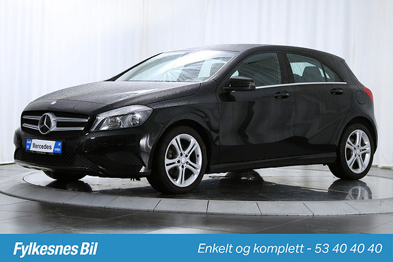 Mercedes-Benz A-Klasse A180 Aut. Regnsensor, Bluetooth, SetePakke, UrbanPakke  2013, 63900 km, kr 199900,-