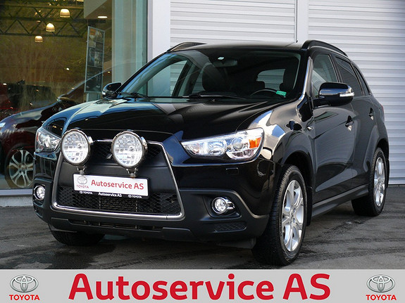 Mitsubishi ASX Instyle+ 1.8-116 ClearTec  2010, 102000 km, kr 169000,-