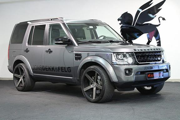 "Land Rover Discovery 3.0SDV6 256hk Black Design 22"""