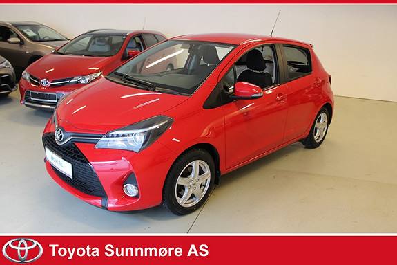 Toyota Yaris 1,33 Style **VELHOLDT**NYBILGARANTI**RYGGEKAMERA**DAB+  2014, 47244 km, kr 159000,-