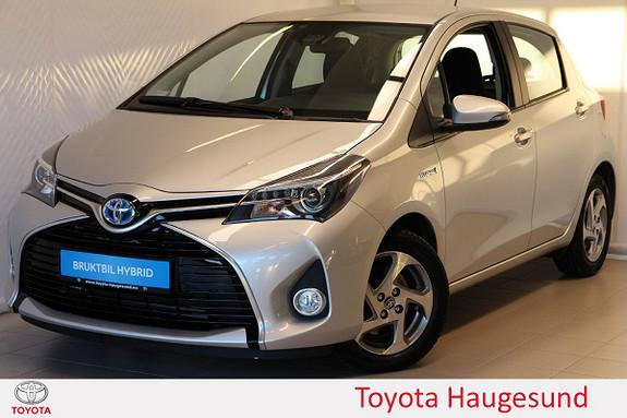 Toyota Yaris 1,5 Hybrid Active e-CVT Navi, kamera, PDC, B/T, Tectyl  2016, 6325 km, kr 209000,-