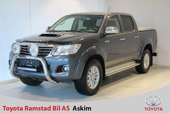 Toyota HiLux D-4D 144hk Double Cab 4WD SR+  2015, 65000 km, kr 359000,-