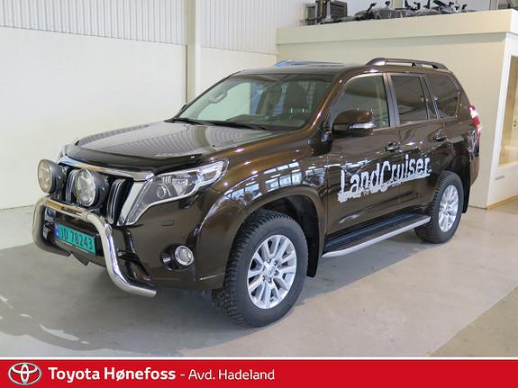 Toyota Land Cruiser 2,8 D-4D GX aut Bøyle Hengerfeste Dab+  2016, 15000 km, kr 569000,-
