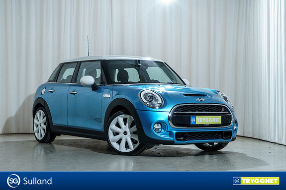 MINI Cooper S DAB+ LED Sportsseter Bluetooth Norsk