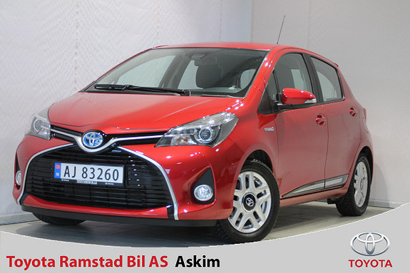 Toyota Yaris 1,5 Hybrid Active S e-CVT  2016, 30300 km, kr 189000,-