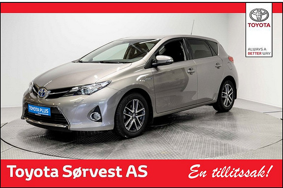 Toyota Auris 1,8 Hybrid E-CVT Active+ DAB+, Automat, Ryggekamera, Toy  2015, 35250 km, kr 218000,-