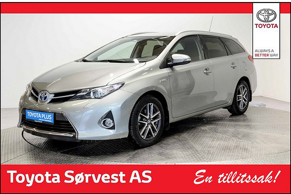 Toyota Auris Touring Sports 1,8 Hybrid Active+  2015, 42554 km, kr 228000,-