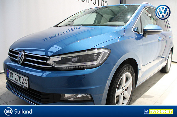 Volkswagen Touran 2,0 150 TDI Highline DSG LED, ADAPTIVE CRUISE, DAB+