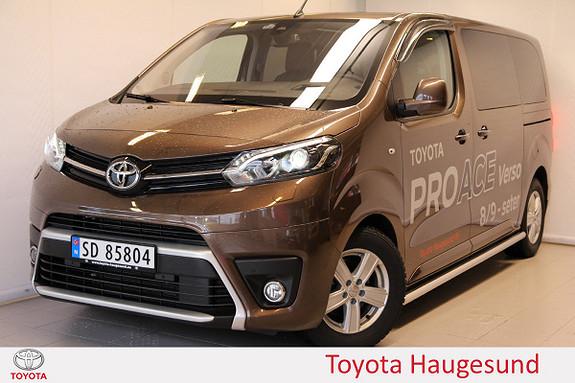 Toyota Proace Verso Medium 2,0D 177 Executive Family aut Kamera, Tectyl ++  2017, 5288 km, kr 659000,-