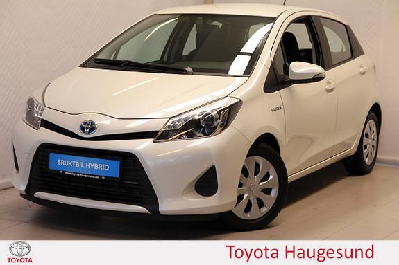 Toyota Yaris 1,5 Hybrid Active e-CVT B/T, Kamera, autoklima, TECTYL  2014, 26727 km, kr 155000,-