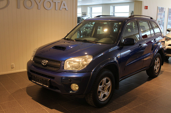 Toyota RAV4 D-4D 4wd  2005, 124271 km, kr 119000,-