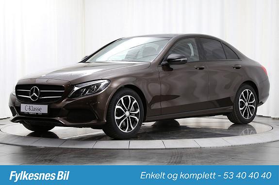Mercedes-Benz C-Klasse C350 Plug-In Hybrid Panorama, DAB+, Hengerfeste, ILS  2017, 29000 km, kr 449900,-