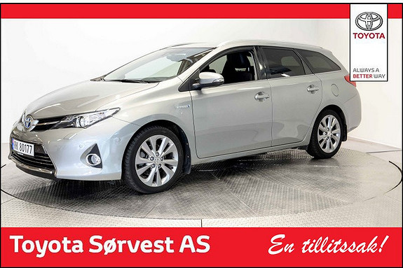 Toyota Auris Touring Sports 1,8 Executive Hengerfeste, DAB+, Ryggeka  2014, 51786 km, kr 218000,-