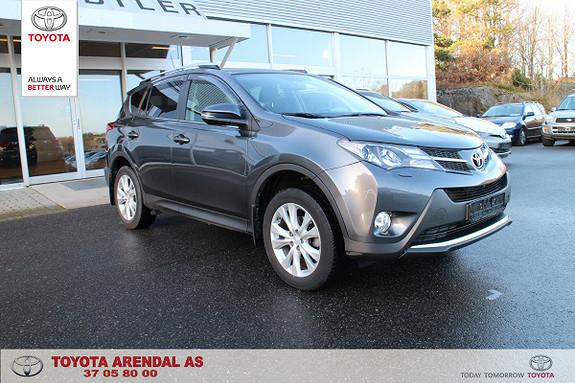 Toyota RAV4 2,0 4WD Active CVT  2014, 59500 km, kr 339000,-