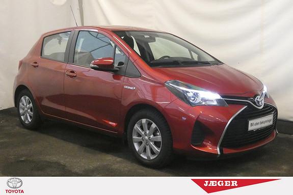 Toyota Yaris 1,5 Hybrid Active e-CVT aut LAV KILOMETERSTAND!  2015, 13022 km, kr 184000,-