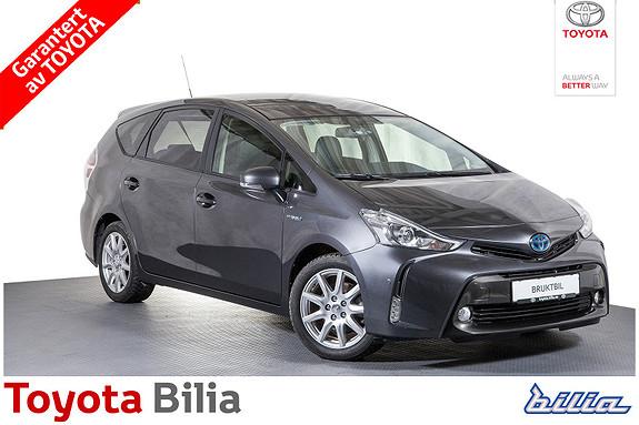 Toyota Prius 1,8 VVT-i Hybrid Premium 7-seter, DAB+, navi, skinn  2015, 55404 km, kr 319000,-