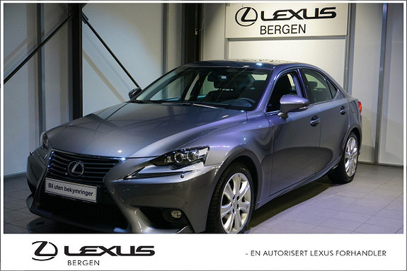 Lexus IS 300h Executive Varme i ratt-Ryggekamera-Parksensor F/B  2015, 11500 km, kr 369000,-