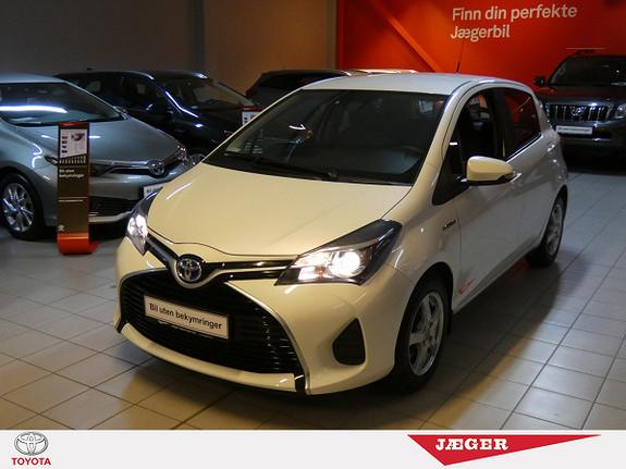 Toyota Yaris 1,5 Hybrid Active S e-CVT  2016, 47100 km, kr 209000,-