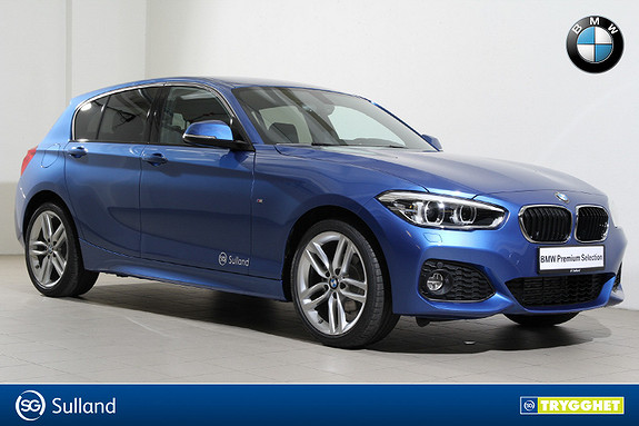 BMW 1-serie 116i M-Navi-DAB+-PDC-LED-HiFi-Lyspakke-Bluetooth++