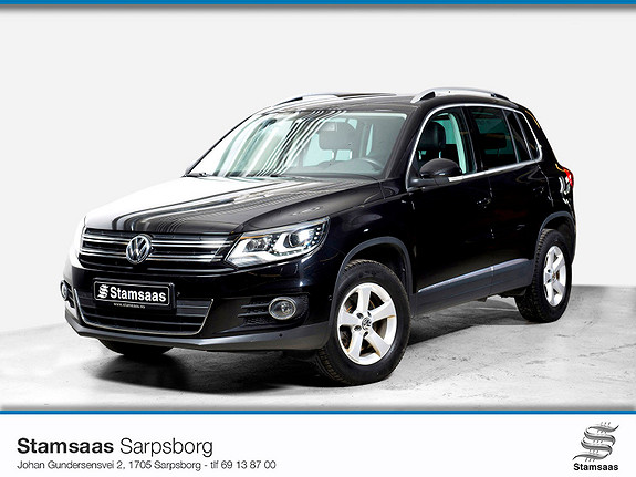 Volkswagen Tiguan 2,0 TDI 110hk 2WD Sport & Style BMT Hengerfeste l Skinn