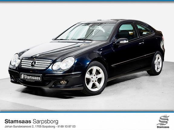 Mercedes-Benz C-Klasse C160 K Sportcoupe l Pen og velholdt bil l Innbytte l