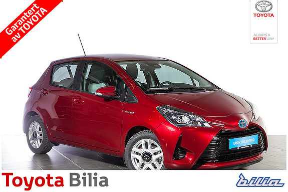 Toyota Yaris 1,5 Hybrid Active e-CVT aut DAB+, bluetooth, r.kamera  2017, 866 km, kr 219900,-