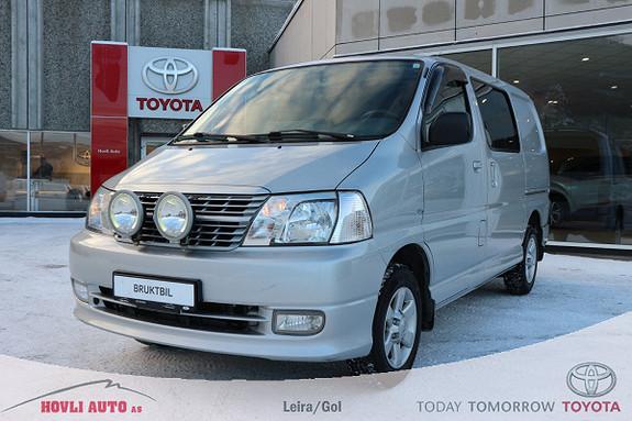 Toyota HiAce D-4D 5-d 117hk 4WD kort Dieselvarmer m/ur + Varerom  2007, 165000 km, kr 169900,-