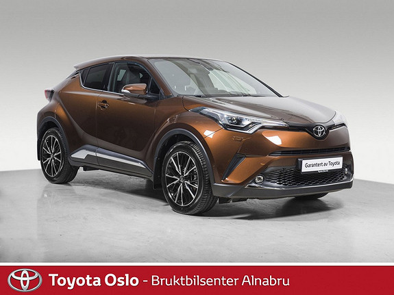 Toyota C-HR 1,2T Supreme Tech 4WD aut Bi-LED,  2017, 10 875 km, kr 379 900,-