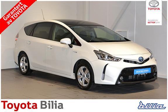Toyota Prius+ Seven 1,8 VVT-i Hybrid Executive Skyview  2017, 17000 km, kr 355000,-