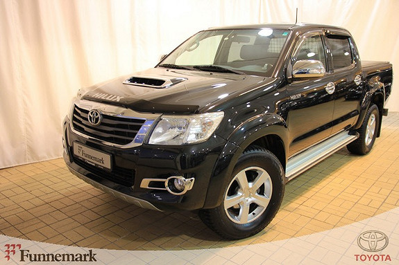 Toyota HiLux D-4D 171hk D-Cab Aut 4WD SR+  2013, 96015 km, kr 319000,-