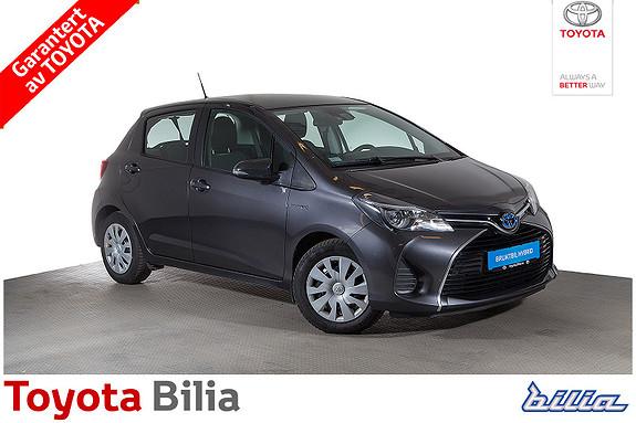 Toyota Yaris 1,5 Hybrid Active S e-CVT  2016, 47573 km, kr 179000,-