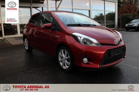 Toyota Yaris 1,5 Hybrid Style  2014, 39500 km, kr 159000,-
