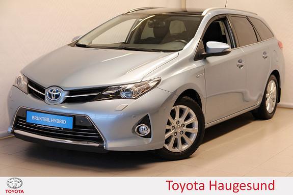 Toyota Auris Touring Sports 1,8 Hybrid Executive Navi, delsk., tect.  2014, 37862 km, kr 230000,-