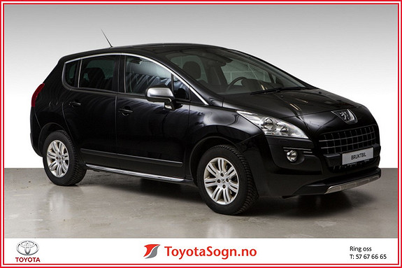 Peugeot 3008 1,6 Premium Pack HDi DPF 109 hk  2010, 75580 km, kr 119000,-