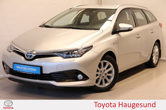 Toyota Auris Touring Sports 1,8 Hybrid Active Navi, kamera, DAB+, BT  2016, 46774 km, kr 249000,-