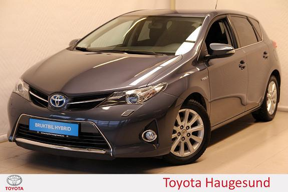 Toyota Auris 1,8 Hybrid E-CVT Active Go navi Kamera, DAB+, Tectyl  2014, 29533 km, kr 199000,-
