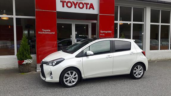 Toyota Yaris Style 1.5 Hybrid  2014, 33460 km, kr 169900,-