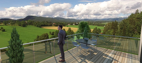 Limihagen - 12 boliger beliggende i idylliske og solrike omgivelser med flott landlig utsikt! 3 SOLGT!